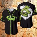 Don't Care Bear 3D Baseball Jersey #Va