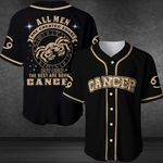 Zodiac The Best Are Born As Cancer 3D Baseball Jersey #140621H
