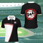 Baseball Dad Gift For Father Polo Shirt #Xh