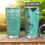 Nurse Fact Tumbler with Your Name #KV