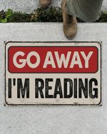 Reading doormat Go away I'm reading #KV