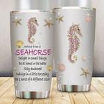Seahorse Steel Tumbler #KV