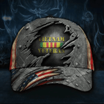 Vietnam Veteran Honoring Military Classic Cap Hats Head Wear #V