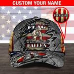 Veteran We Stand For The Flag custom name Classic Cap #KV
