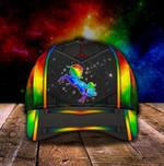 Unicorn Galaxy LGBT Classic Cap hats head wear #V