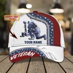 Soldier Veteran Custom Name Classic Cap #KV