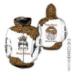 USPS Postal Leopard Custom Name AOP T-shirt Hoodie Zip up