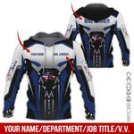 USPS Deliver Custom Name AOP T-shirt Hoodie Zip up