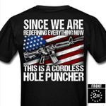 Since we are redefining everything now this is a cordless hole puncher T-shirt 2D #KV