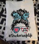 Truckers wife Unisex T-Shirt 2D #KV