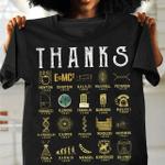 Thank Science T-Shirt 2D #KV