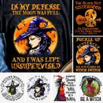 Witch halloween T-Shirt 2D #KV