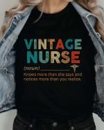 Vintage nurse T-shirt 2D #KV