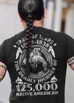 Trail of Tears 1828-1838 Native American T-Shirt 2D #KV