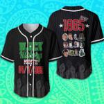 For Juneteenth Black History I Love Being Black 3D Baseball Jersey