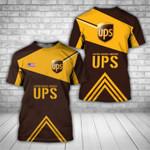 UPS United parcel service we deliver for you unisex t-shirt 3d