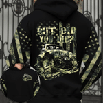 Jeep dad - But did you die camouflage flag hoodie 3d #181021h