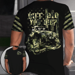 Jeep dad - But did you die camouflage flag unisex t-shirt 3d