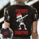 Skull Merry Dabmas AOP T-shirt Hoodie Zip up Leggings