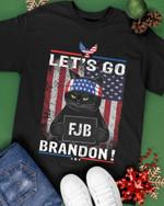 Let's Go B*** FJB Black Cat Unisex T-Shirt #Lk