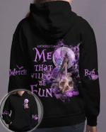 Underestimate Me That Will Be Fun Fairy Skull Halloween Hoodie 3D #Kv