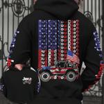American Jeep flag - But did you die Hoodie 3D