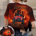 My Broomstick Runs On Diesel Engine AOP T-shirt #Lk