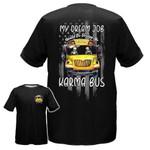 Skull Driving Karma Bus AOP T-shirt Hoodie Zip up
