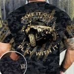 Jeep Camo Take It Out And Play With It Unisex AOP T-Shirt 3D #KV