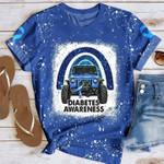 Jeep Diabetes Awareness AOP T-shirt Sweatshirt