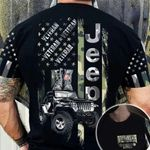 Jeep Flag Camo Veteran AOP T-shirt Hoodie Zip up