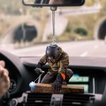 Awesome welder car hanging ornament