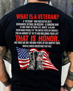 What Is A Veteran That Is Honor American Soldier Unisex T-Shirt #KV