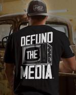 Defund the Media Unisex AOP T-Shirt 3D #KV