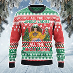 All The Jingle Ladies Christmas 3D Sweater #Lk