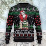 When I Think About You I Touch My ELF Christmas 3D Sweater #Lk