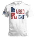 Raised Right Unisex AOP T-Shirt 3D #KV