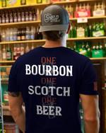 One Bourbon One Scotch One Beer Unisex AOP T-Shirt 3D #KV