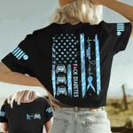 Jeep F Diabetes Unisex AOP T-Shirt