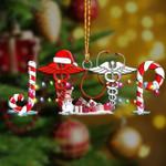 Jeep Nurse Christmas Ornament