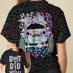 Jeep girl - But did you die leopard pattern unisex t-shirt 3d