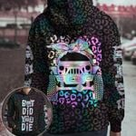 Jeep girl - But did you die leopard pattern all over print