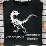 Velociraptor Distanceraptor Timeraptor Unisex T-Shirt #KV