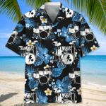 Drum Nature Hawaiian Aloha Shirts #KV
