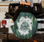 Not all who wander are lost green mountain spare tire cover