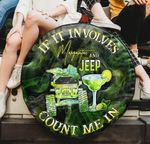 If it involve margarita and Jeep count me in spare tire cover