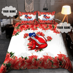 Puerto Rico Caribbean Frog With Maga Flower Duvet Cover Bedding Set #KV