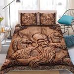 Powerful Ravens Of Odin king of viking Duvet Cover Bedding Set #V