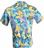 Sexy Mermaid Retro Hawaiian Shirts #KV