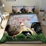Rooster chicken couple you & me we got this Duvet Cover Bedding Set with Your Name #V
